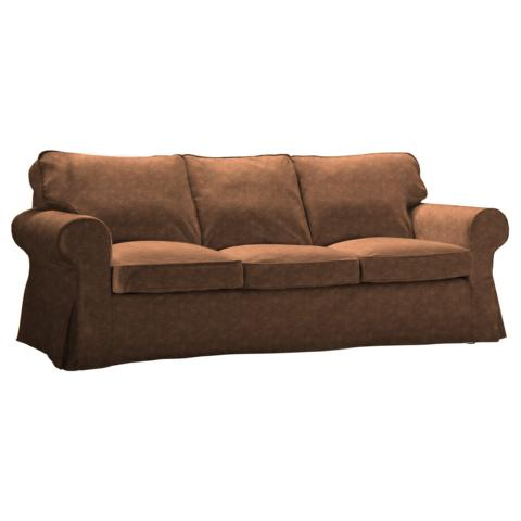 IKEA Ektorp 3er-Sofa Bezug aus Kunstleder
