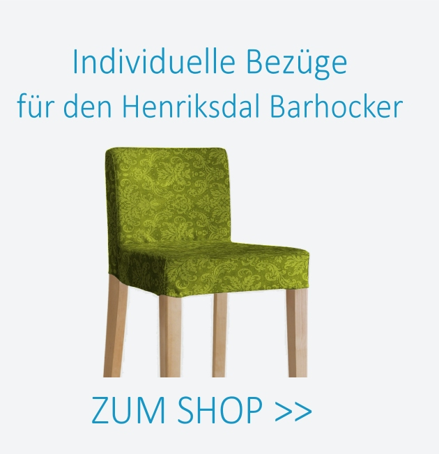 henriksdal barhocker bezug pimp your couch. Black Bedroom Furniture Sets. Home Design Ideas