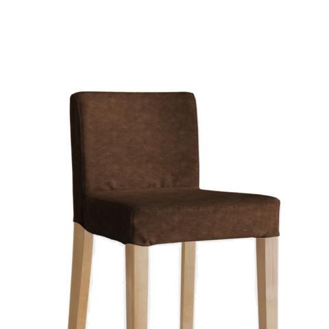 IKEA Henriksdal Barhocker Bezug aus Kunstleder
