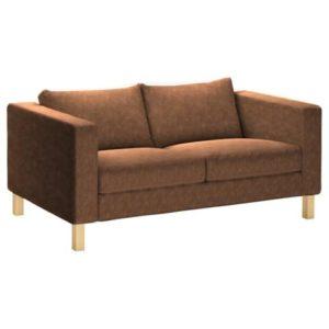 IKEA Karlstad 2er-Sofa Bezug aus Kunstleder