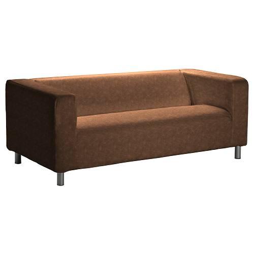 IKEA Klippan 2er-Sofa Bezug aus Kunstleder
