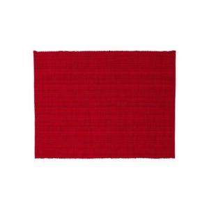 Tischset BISCAYA Farbe: Rot | Größe: 34×45