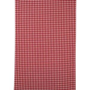 Stoffläufer CAMPOS Farbe: Rot-Weiss | Größe: 45×150