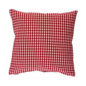 Kissenhülle CAMPOS Farbe: Rot-Weiss | Größe: 40×40
