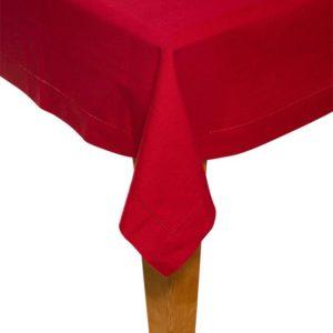 Tischdecke DINNER Farbe: Rosso | Größe: 100×100