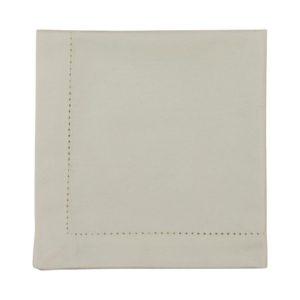 Serviette DINNER Farbe: Weiss | Größe: 45×45