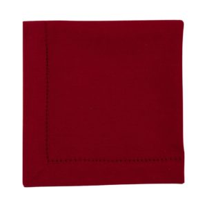 Serviette DINNER Farbe: Rosso | Größe: 45×45