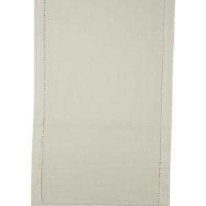 Stoffläufer DINNER Farbe: Weiss | Größe: 45×150
