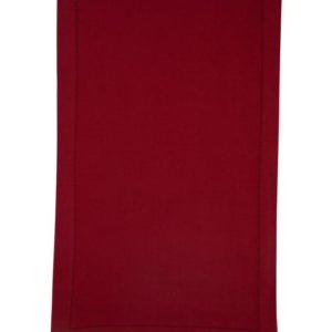Stoffläufer DINNER Farbe: Rosso | Größe: 45×150