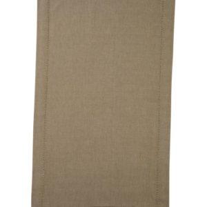 Stoffläufer DINNER Farbe: Taupe | Größe: 45×150