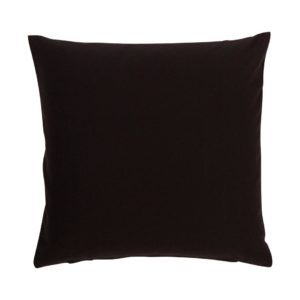 Kissenhülle ANZIO Farbe: Schwarz | Größe: 50×50