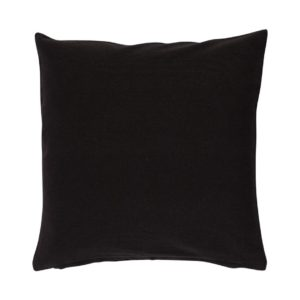 Kissenhülle ASCO Farbe: Schwarz | Größe: 40×40