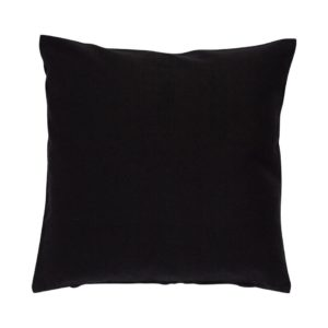 Kissenhülle ASCO Farbe: Schwarz | Größe: 50×50