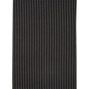 Geschirrtuch LAURI Farbe: Schwarz-Weiss | Größe: 45×65