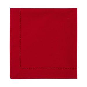 Serviette DINNER Farbe: Rot | Größe: 45×45