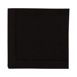 Serviette DINNER Farbe: Schwarz | Größe: 45×45