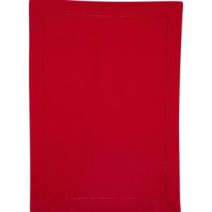 Tischset DINNER Farbe: Rot | Größe: 34×45