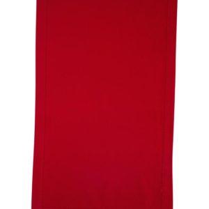 Stoffläufer DINNER Farbe: Rot | Größe: 45×150