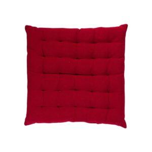 Stuhlkissen SOLO, gepolstert Farbe: Rosso | Größe: 40×40