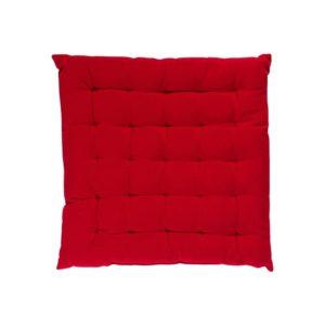 Stuhlkissen SOLO, gepolstert Farbe: Rot | Größe: 40×40