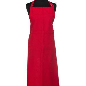 Schürze CUCINA Farbe: Rot | Größe: Standard