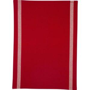 Geschirrtuch CUCINA Farbe: Rot | Größe: 45×65
