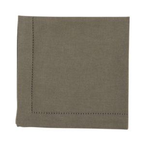Serviette DINNER Farbe: Aluminium | Größe: 45×45