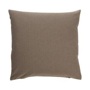 Kissenhülle ANZIO Farbe: Aluminium | Größe: 50×50