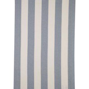 Stoffläufer VANNES Farbe: Weiss-Jeans | Größe: 45×150