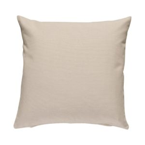 Kissenhülle ASCO Farbe: Marzipan | Größe: 50×50