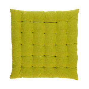 Stuhlkissen SOLO, gepolstert Farbe: Palmengrün | Größe: 40×40