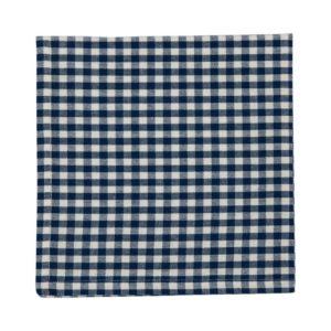 Serviette CAMPOS Farbe: Delfterblau-Weiss | Größe: 45×45