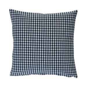 Kissenhülle CAMPOS Farbe: Delfterblau-Weiss | Größe: 40×40