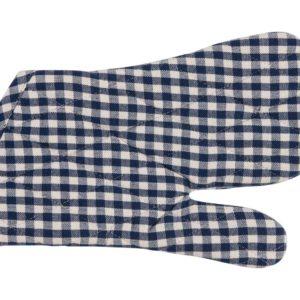 Topfhandschuh CAMPOS Farbe: Delfterblau-Weiss | Größe:One Size