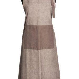 Schürze CULINARIA Farbe: Club Grey-Weiss | Größe: Standard