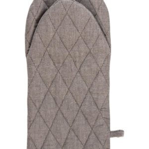 Topfhandschuh CULINARIA Farbe: Club Grey-Weiss | Größe: One Size