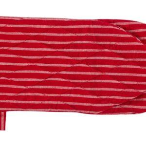 Topfhandschuh LAURI Farbe: Rot-Weiss | Größe: One Size
