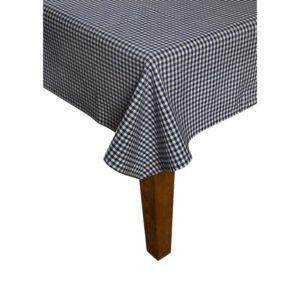Tischdecke CAMPOS Farbe: Delfterblau-Weiss   Größe: 100×100