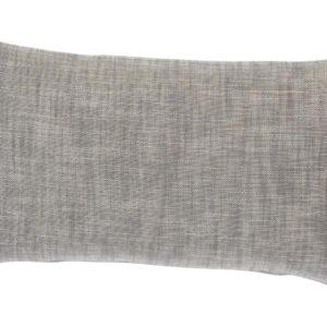 Kissenhülle MINO Farbe: Aluminium | Größe: 30×50