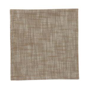 Serviette MINO Farbe: Taupe | Größe: 45×45