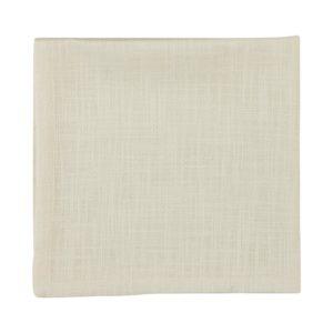Serviette MINO Farbe: Weiss | Größe: 45×45
