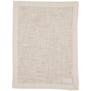 Tischset MINO Farbe: Weiss | Größe: 34×45