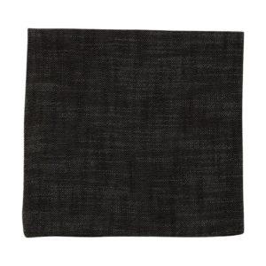 Serviette MINO Farbe: Graphit | Größe: 45×45