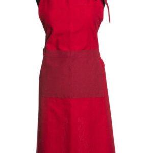 Schürze CULINARIA Farbe: Bardolino-Rosso | Größe: mit Öse