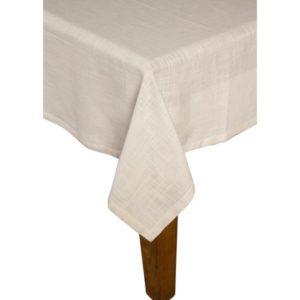 Tischdecke MINO Farbe: Weiss | Größe: 100×100