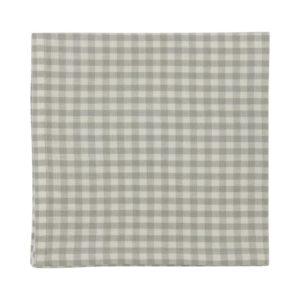 Serviette CAMPOS Farbe: Steel-Weiss | Größe: 45×45