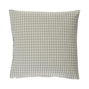 Kissenhülle CAMPOS Farbe: Steel-Weiss | Größe: 40×40