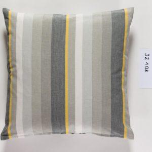 Stoffläufer VANNES Farbe: Rot-Weiss | Größe: 45×150