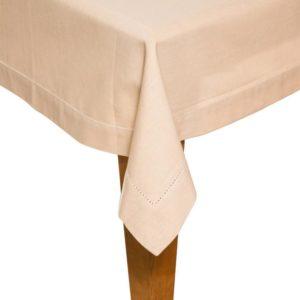 Tischdecke DINNER Farbe: Marzipan | Größe: 100×100