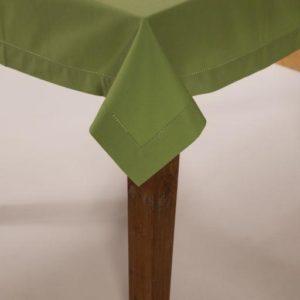 Tischdecke DINNER Farbe: Evergreen | Größe: 100×100